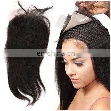 Hot selling top quality natural hair cheap lace closure aliexpress hair