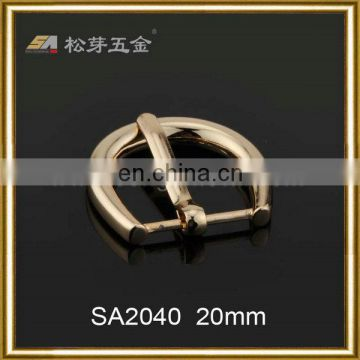 Song A hardware D ring pin buckle 20mm