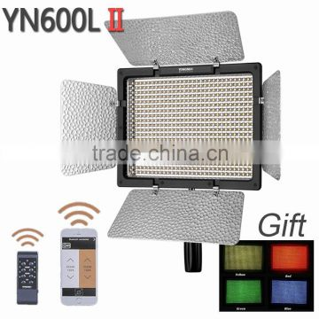 YONGNUO YN600L II,YN600 600 LED Light Panel with 2.4G wireless Remote Control, 5500K LED Video Light