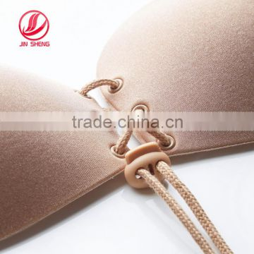 2016 new design silicone gel invisible bra strapless bra