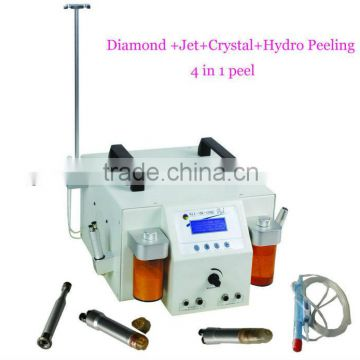 WF-25 Hydro+Crystal+Diamond+jet peel facial machine