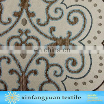 100% Polyester jacquard grommet Flocking curtain/From the Chinese factory curtain