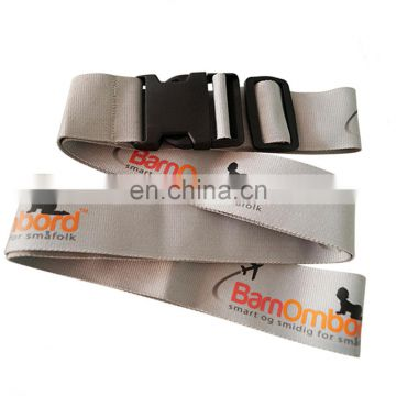 New design personalized luggage strap with metal buckle
