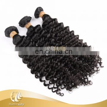 Brazilian Hair 10''-30'' are Available, Raw Brazilian Deep Wave Human Hair Extension for Black Women