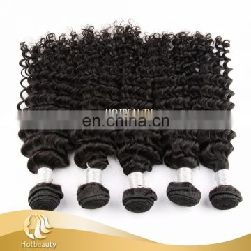 "Hot Beauty New Peruvian Deep Wave Hair Bundles 10"" 12"" 14 "" 16"" 18"" 20"" Tangle Free"