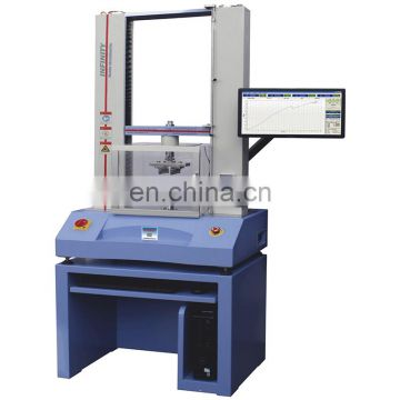 Computer Control Three Point Bending Testing Machine For Glass Metal Wire Textile