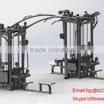 high quality 8 staion / names of exercise machines / gym equipment for sale
