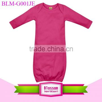 1096404dbda5 Children Age Hot Pink Long Sleeve Design Jumper Baby Romper Wholesale Baby  Clothes Blank Dress Romper ...