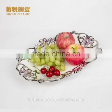 Wholesale hotel used dinnerware porcelain plates chinese serving dishes