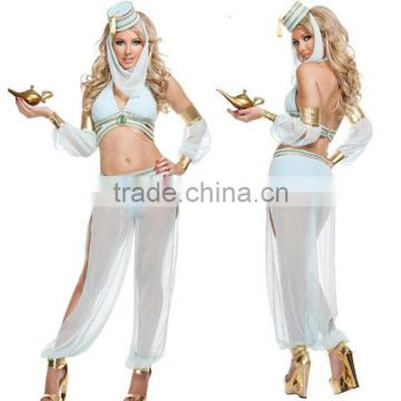 Light blue belly dance India dancers wear Arabia Lang service