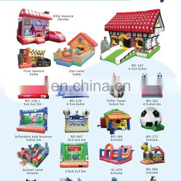 PVC tarpaulin inflatable jumping bouncer for park in outdoor
