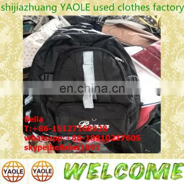 used bags in bales,shoes and clothes used school bag