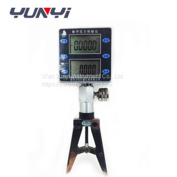 Digital Pressure calibrator comparator test pump