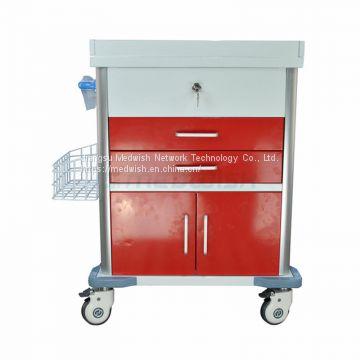 AG-MT026 Stainless Steel Mobile Medicine Hospital Patient Trolley For Sale