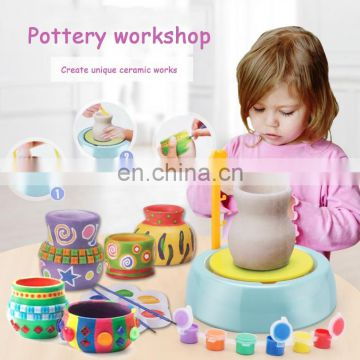 Hot selling electric ceramic toys clay children's educational toys diy handmade toys