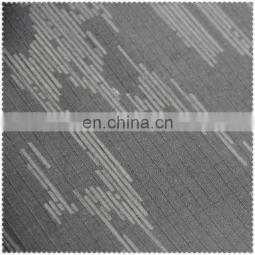 TC 80/20 poly cotton denim jacquard fabric with prints