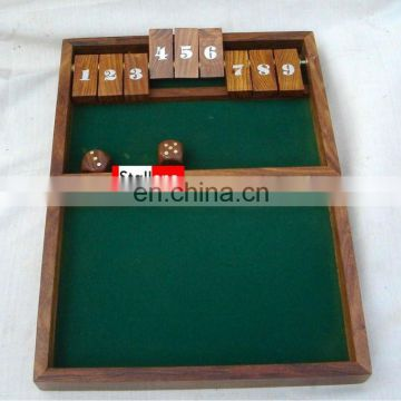 WOODENCHESS & GAME BOX