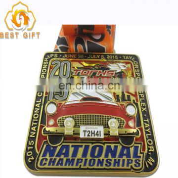 Custom Marathon antique Zinc Alloy running medals