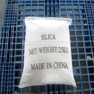 white high purity fused silica sand for Porcelain stocks and glazes factory direct sale
