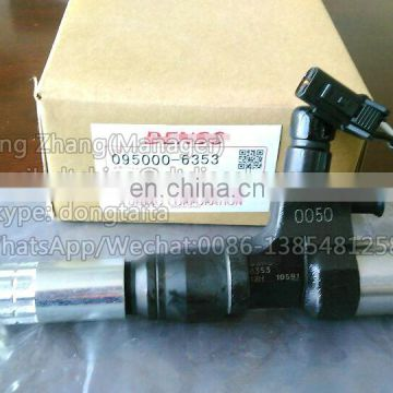 SK250-8 J05 Genuine Common Rail Injector 095000-6353