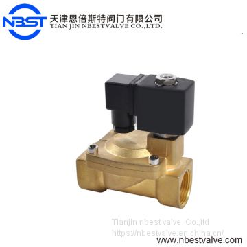 DN32 1 1/2'' Solenoid Valve Brass Pilot Operated Diaphragm NPT Thread