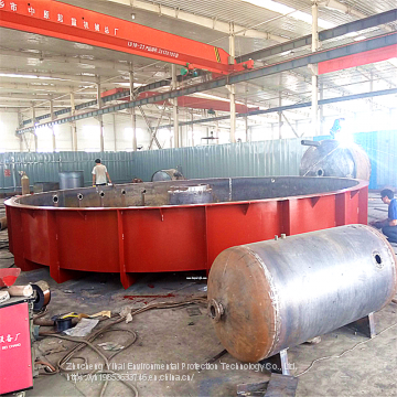 High efficiency shallow Air flotation Machine advection 5 cubic dissolved Gas Vortex slaughtering Medical Culture and other sewage treatment equipment