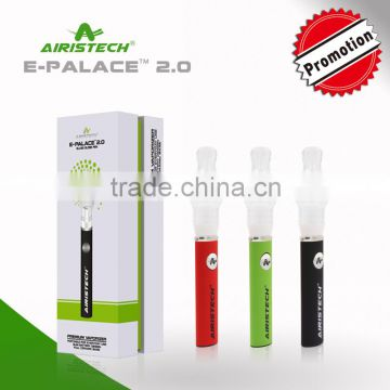 China wholesale vaporizer pen custom wax pen glass dome vaporizer airistech  wax & herb replaceable atomizer micro pen