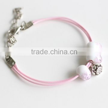 Japanese and Korean Style Jewelry Smart People Fashion Trends Shiny Bracelet Series new design handmade anklets bracelets