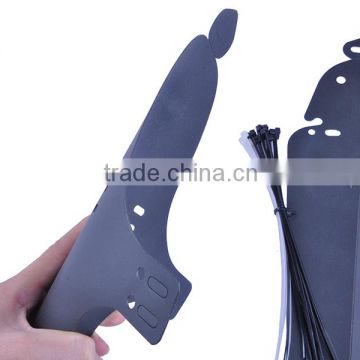 Custom Bike Fender Mud Guard for Bicycle Plastic Front and Rear Bicycle Mudguard factory