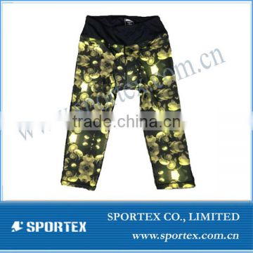 2017 hot sale SPT-R1319 ladies compression jogging pants