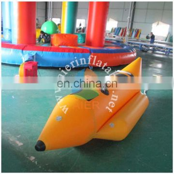 hot sale inflatable boat/3 seats banana boat