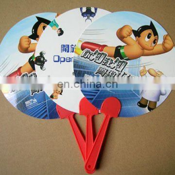 Cheap Price Promotional Round Paper Hand Fan