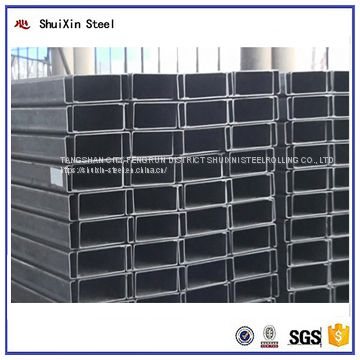 Demand exceeds supply C channel purlin for prefab house roof use