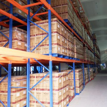Aceally Warehouse stackable steel iron cold storage pallet racking