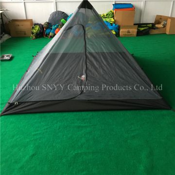 Outdoor 3-4 Person Mosquito net venting Tent