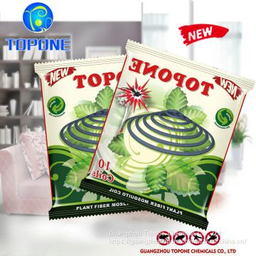 Wholesale Stock Plant Fiber Mosquito Coils, Gray Mosquito Coil With 140mm