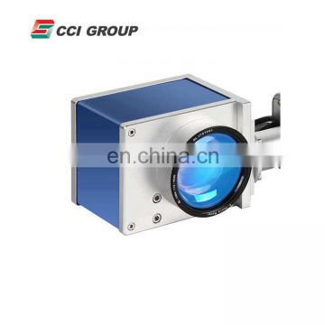 Easy operation automatic UV laser marking machine price for plastic PVC PET bottles jars marking