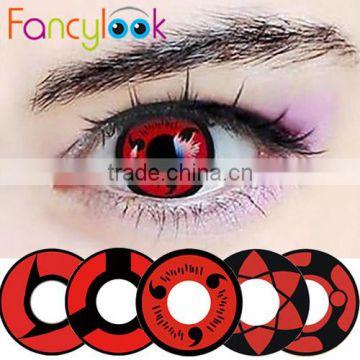 2015 new sharingan crazy lens halloween contacts fancylook contact lens