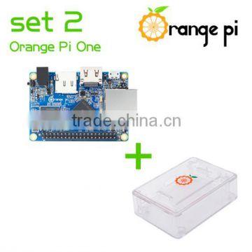 Orange Pi One SET2: Pi One+ABS Transparent Caes Support Android, Ubuntu,  Debian nor for Raspberry Pi