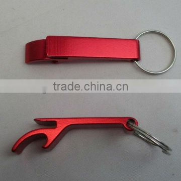 cheap customized promotional key ring metal bottle opener