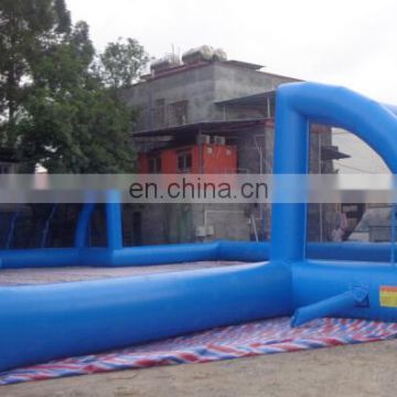 2017 Large export inflatable water soccer soccer field