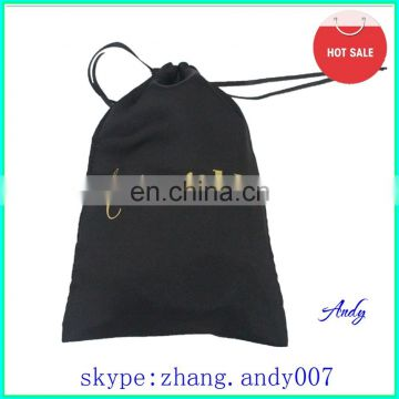 custom large printed promotion satin bags for dancing shoes