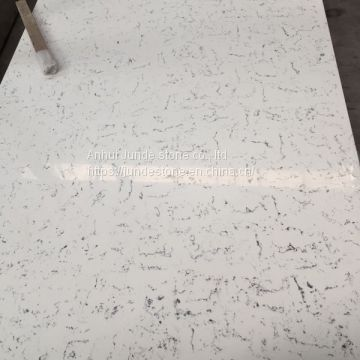 Calacatta Quartz Stone Kitchen Countertop