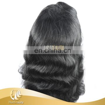 High Quality Natural Color Unprocessed Donor Top Grade Short Straight Bob Style Wig