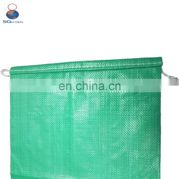 China supplier wholesale custom logo pp woven plastic silage bags