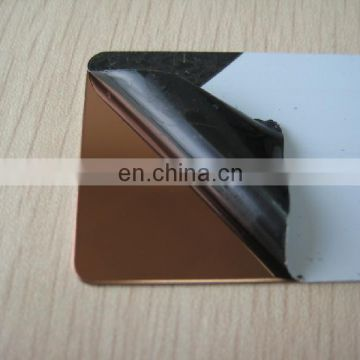 PVD coating different colors stainless steel sheet panel
