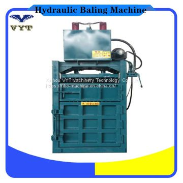 Vertical Hydraulic Press Baler/Baling Machine/Used Clothes Compacting Machine