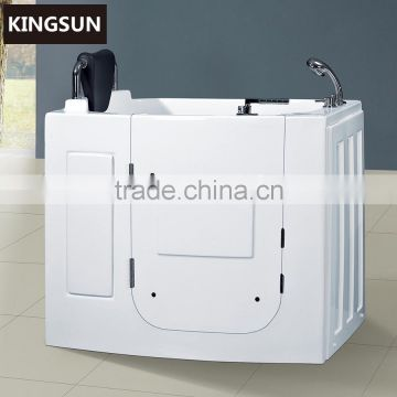 Acrylic Cheap Soaking Elderly Bathtub For Old People And Disabled People