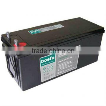 durable dry acid battery DB12-160 12v 160ah accumulator batteries