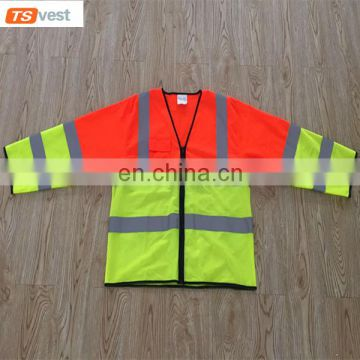 Mesh Custom Tshirt Safety Shirts Reflective